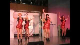 "Kpop Girl Group ""Ruby"" performing Tell Me and Nobody by Wonder Girls (4.13.2012)"