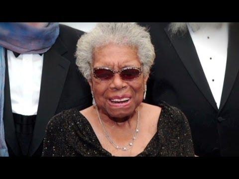 'National treasure' Maya Angelou dies at 86.