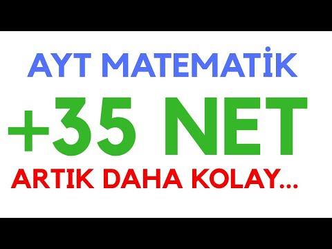 Ayt Matematik 35 Net Yapmak Artık Daha Kolay #ayt #aytmatematik #yks2020