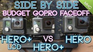 Budget GoPro Face Off: GoPro Hero+ LCD vs Hero+ vs Hero