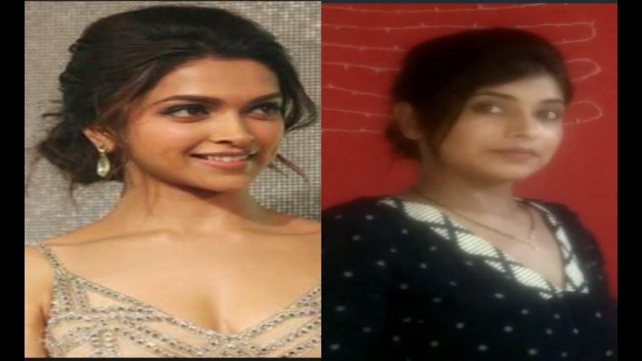 Messy Bun In 5 Minutes Inspired From Deepika Padukone Indian