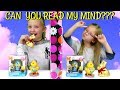 THE SIBLING TEST! Mind Reading Challenge!