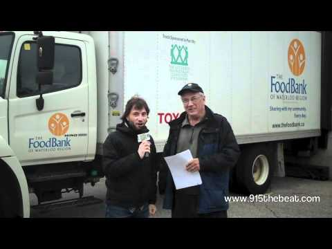 30 Deeds In 30 Days-Deed 22:The Food Bank Of Waterloo Region