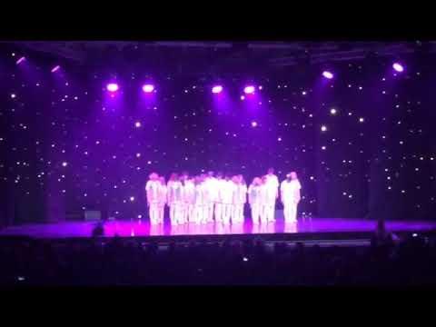 Открытие концерта, Люберцы совместный танец