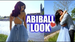 ABIBALL 2018 ⎮ Ich nehm' euch mit - Makeup, Haare & Outfit ♡