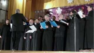 """Tecuci- Corul Protoieriei Tecuci-concert de colinde - """"Mărire-ntru cele-nalte"""""""