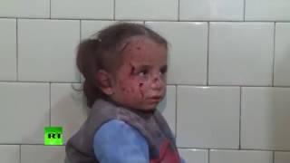 Детям из обстрелянного госпиталя оказывают срочную медицинскую помощь