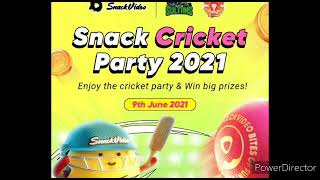Win big prizes by Snack App Video