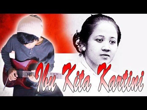 Lagu Ibu Kita Kartini Guitar Cover By Mr. Jom