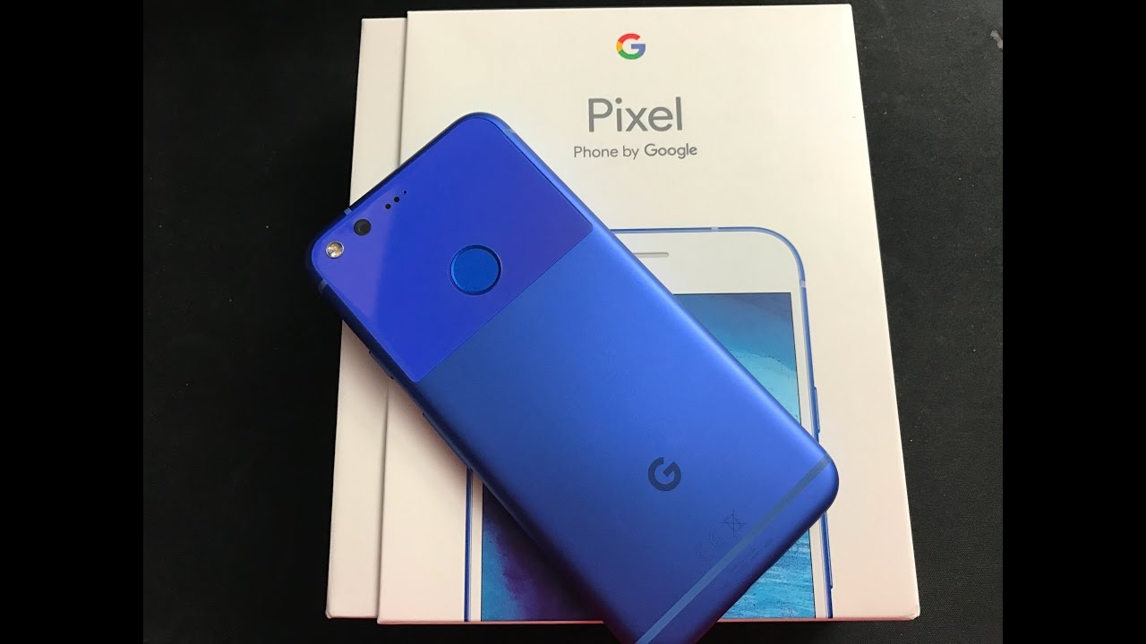 unboxing google pixel really blue youtube