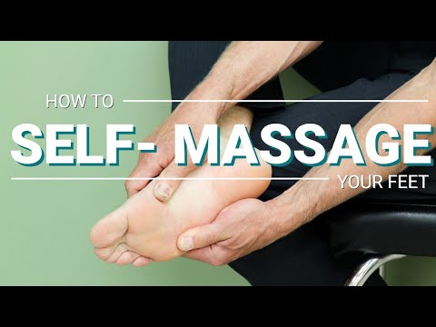 How to Massage Your Foot Pain Away, SIMPLE Self-Massage