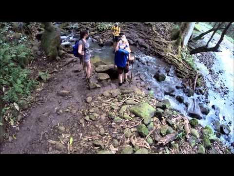 Kauai Hawaii - Kayak Tour - Wailua River to Secret Falls