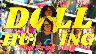 The Frog Vlog:  DOLL HUNTING with Froggy | Wild Hearts Crew | Boxy Girls | Barbie Nat Geo & more