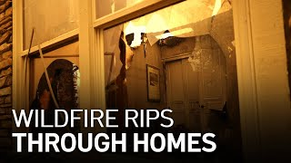 Raging Wildfire Tears Through Homes in North Bay