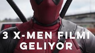 Deadpool 2, Dark Phoenix Vizyon Tarihleri Belli Oldu! (3 X-MEN FİLMİ GELİYOR)