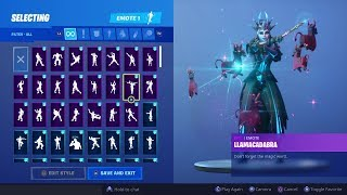 ICE QUEEN SKIN With NEW Fortnite Dances And Emotes