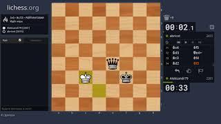 """Шахматы.  Универсальная расстановка за белых - """"Бермудский треугольник"""" #5"""