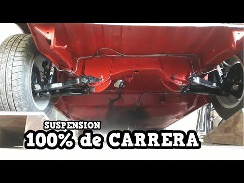 Instalando NUEVA SUSPENSIÓN RACING Al Fiat Uno