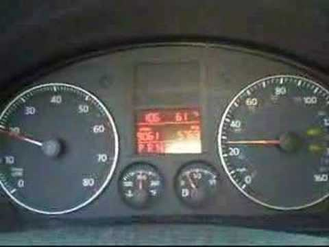 2007 VW Rabbit/Golf V 0-60