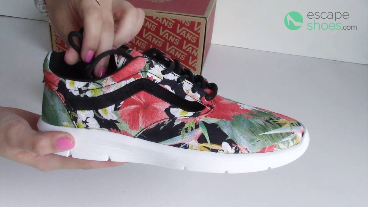 7eeb2bc032 Sneakers VANS Iso Digi Aloha Black - YouTube