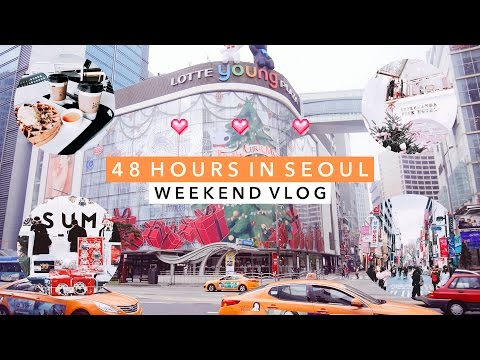 Korea Vlog 🇰🇷 Food & Shopping During a Weekend in Seoul
