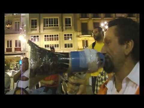 La spanish revolution de Jurdao en Málaga vista por Merinero.mov