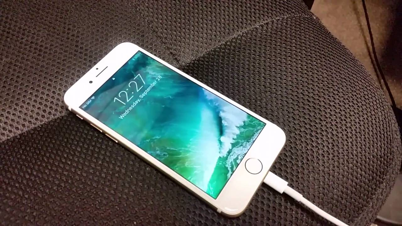 sports shoes 044bb 93514 New IPHONE 7 CHARGING PROBLEM