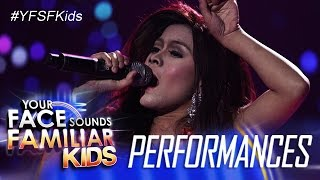 "Your Face Sounds Familiar Kids: Lyca Gairanod as Jessa Zaragoza - ""Bakit Pa"""