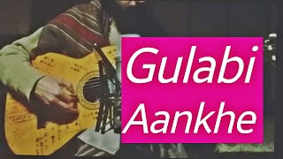 Download song Gulabi Ankhain-Fingerstyle Guitar Cover-  Sulaeymank