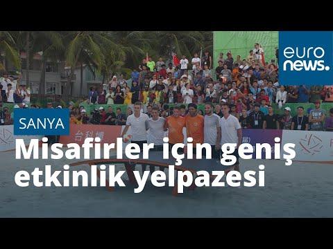 Geniş etkinlik yelpazesi ile Çin'in ada kenti Sanya, popülaritesini artırıyor