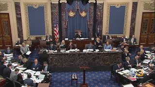 Senate Votes To Block Witnesses From Testifying In Impeachment Trial Natasha Brown reports., From YouTubeVideos