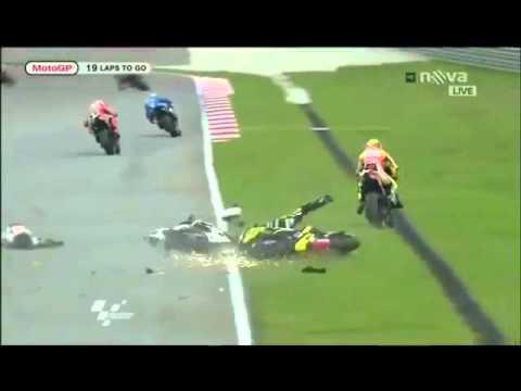 Muere Marco Simoncelli Grave Incidente Gran Premio Di Malesia 23 10