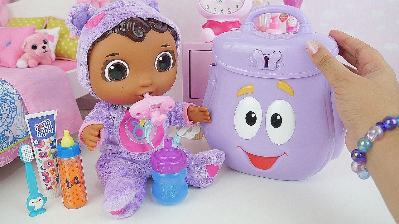 Baby Cece Doc Stuffins Arrumando a Malinha para o Fim de Semana  Get Better Baby Cece Doc McStuffins