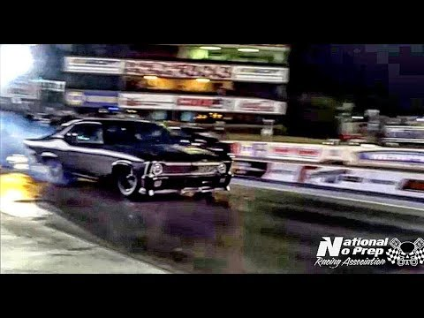 Murder Nova vs Nitrous Malibu Catrin at the Memphis Street Outlaws No Prep