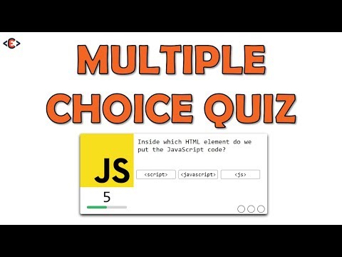 Create A Multiple Choice Quiz App Using JavaScript