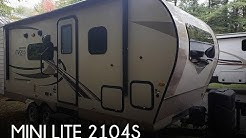 [UNAVAILABLE] Used 2019 Mini Lite 2104S in Gaylord, Michigan