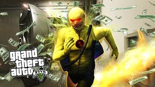 GTA 5 PC Mods - REVERSE-FLASH MOD w/ SUPER SPEED! GTA 5  Flash Mod Gameplay! (GTA 5 Mods Gameplay)