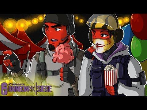 Rainbow Six: Siege | DATE NIGHT AT THE CARNIVAL! (NEW HEADGEAR | SKULL RAIN DLC!) SEASON 3