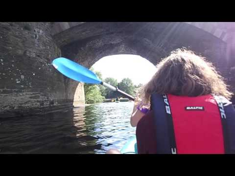 Wye Valley Kayaking, Kerne Bridge to Redbrook, July 2017