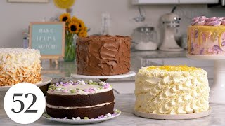 How to Make Layer Cakes | Bake It Up a Notch with Erin McDowell