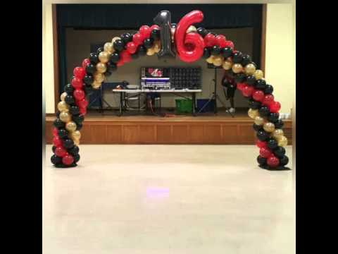 Hollywood Theme Sweet 16 Birthday Party