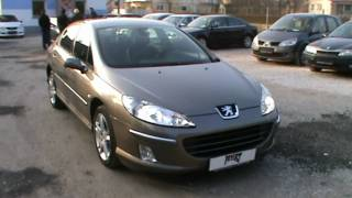 2004 Peugeot 407 2.2 i 16V SPORT AUTOMATIC Review,Start Up, Engine, and In Depth Tour