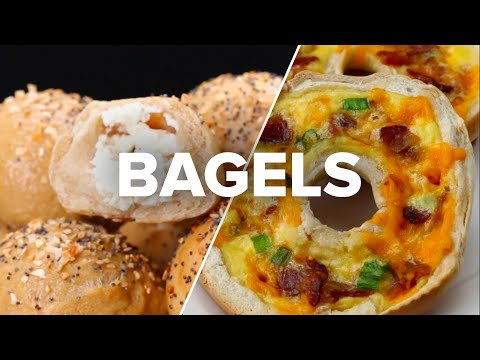 4 Upgraded Bagel Recipes