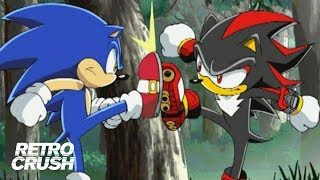 Sonic and Shadow settle their beef on Prison Island | Sonic vs. Shadow | Sonic X (2003)