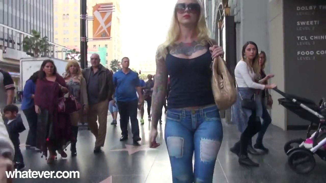 Girl Walks On Streets With No Pants,Prank - Youtube-2620