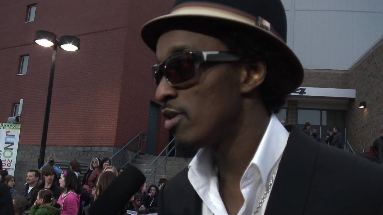 VO red carpet exclusive with  K'naan at 2010 Junos