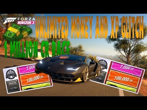 Forza Horizon 3 Credit and Xp Glitch | Unlimited Money And Spins (Working 100%)