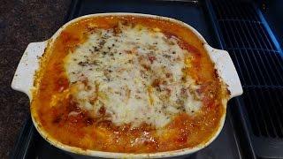 Low Carb (113) Zucchini Lasagna