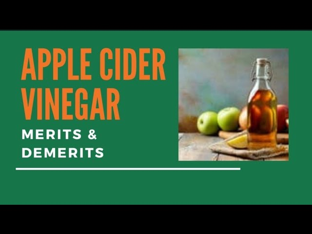 All About Apple Cider Vinegar | Benefits / Merits | Usage | Contraindications | Dr. Akhila Vinod