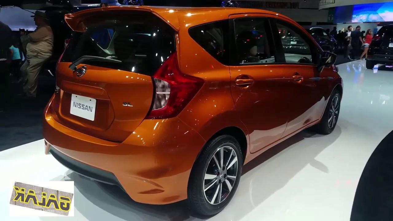 2018 Nissan Versa Note Sl Exterior